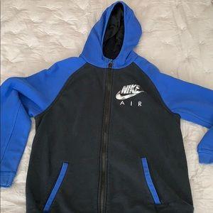 Boys Nike hoodie zip-up size xl